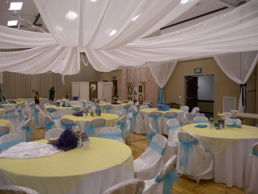 False Wedding Party Ceilings Fabric Unique